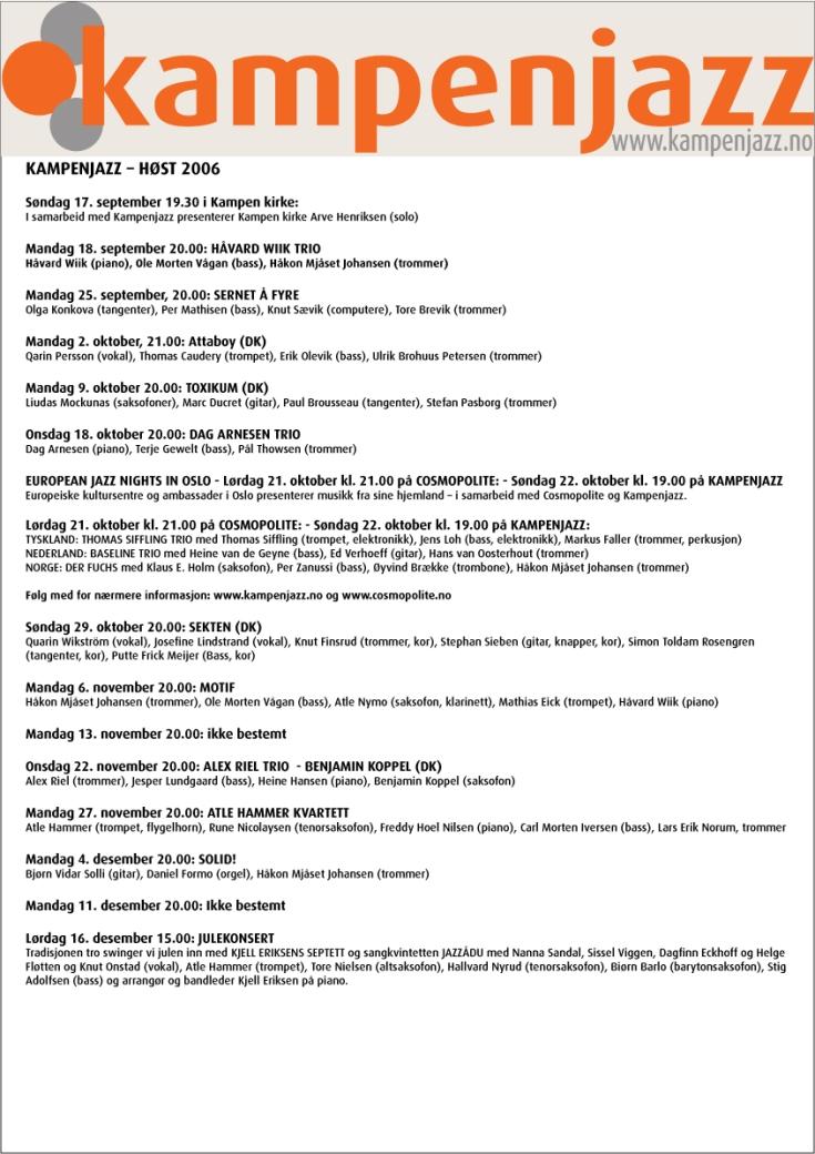 program_høst_2006